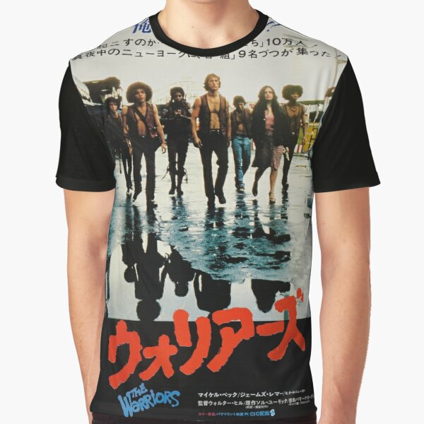 The Warriors Japanese Poster Graphic T-Shirt