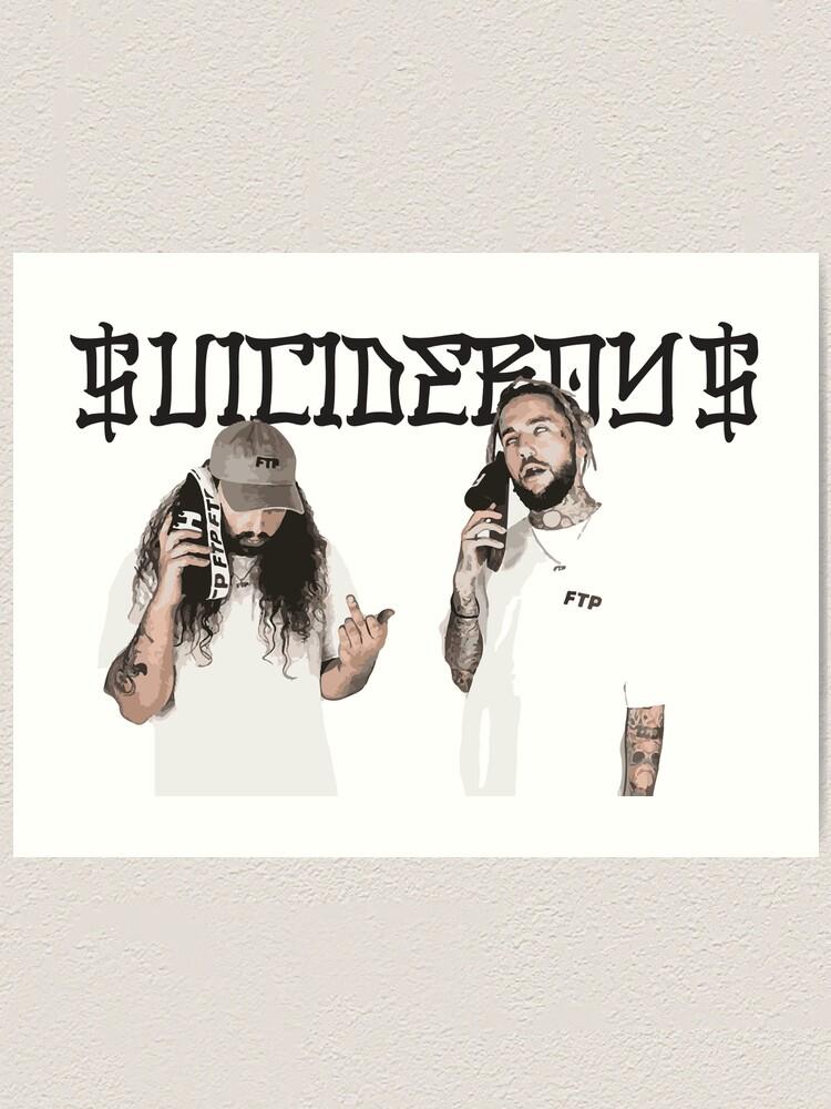 "24/"" sizes $uicideboy$ Suicideboys poster art home decor photo print 16/"" 20/"""