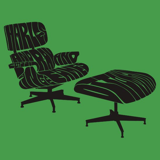 TShirtGifter presents: Eames Lounge