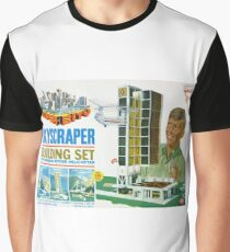 Super City Skyscraper Set Graphic T-Shirt