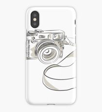 35mm SLR Film Camera Drawing iPhone Case