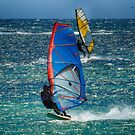 Sailboarding in Lancelin by adbetron
