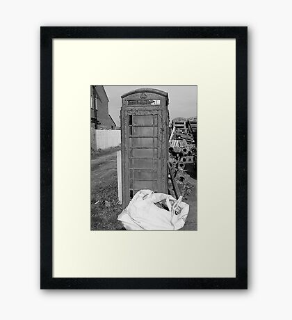 Phone For Repairs Framed Print