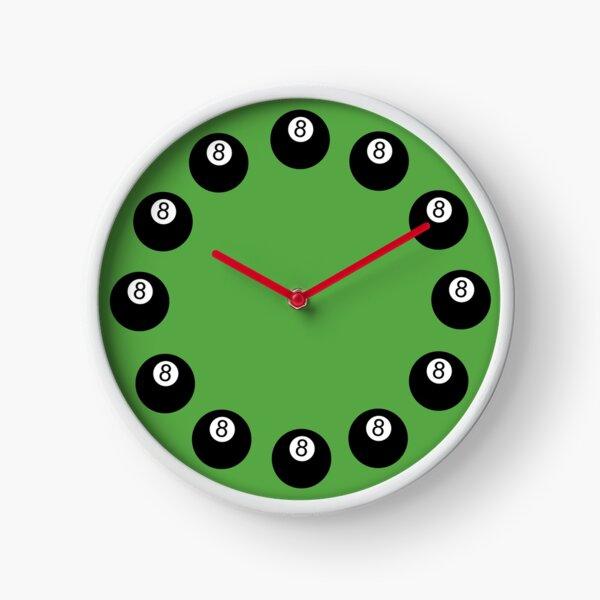 8 Balls Clock