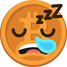 Bitcoin Emoji (BTC) Sleeping Giant by Justin Burchell