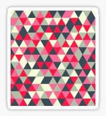 Pattern design with abstract elements Sticker