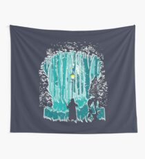 Snowstorm Wall Tapestry