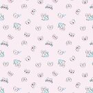 Emo Light Pink Pattern by Merdoggo
