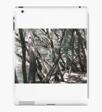 tangled trees iPad Case/Skin