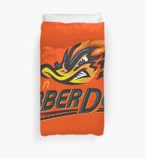 akron rubber ducks Duvet Cover