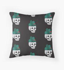 Cactus Skull Floor Pillow