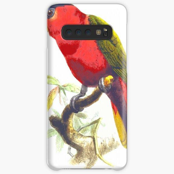 Purple-bellied lory animal bird lory parrot Samsung Galaxy Snap Case