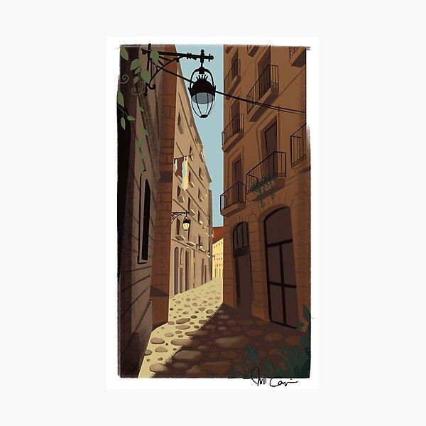 Las Ramblas, Barcelona Photographic Print