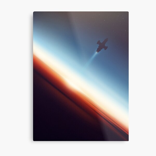 Into Space Metal Print