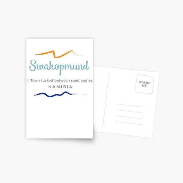 Swakopmund – (n)noun – Namibia Postcard