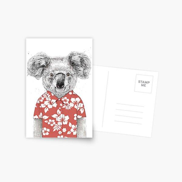 Summer koala Postcard
