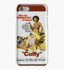 Coffy (Brown) iPhone Case/Skin
