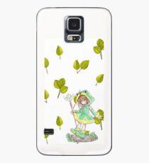 Sakura Hülle & Klebefolie für Samsung Galaxy