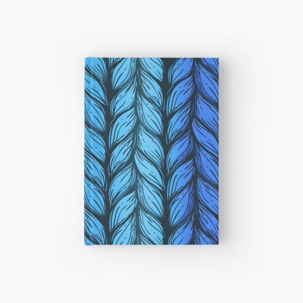 Blue knit Hardcover Journal