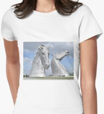 The Kelpies 381 Women's Fitted T-Shirt
