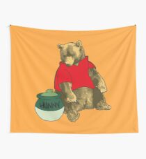 Pooh! Wall Tapestry