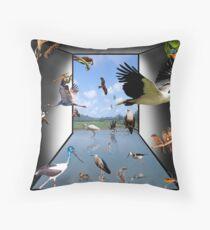 Birds - Yes! Throw Pillow