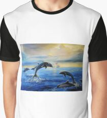 Dolphins Graphic T-Shirt