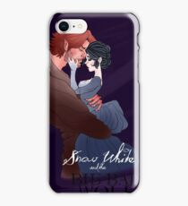 Snow White and the Big Bad Wolf iPhone Case/Skin