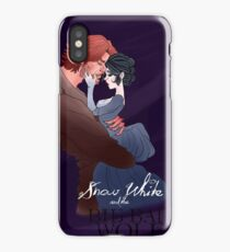 Snow White and the Big Bad Wolf iPhone Case