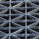 Streetscape Abstract - the Grating - 2 by psphotogallery