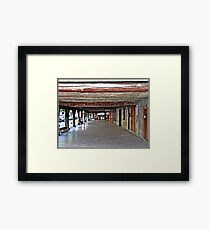 """""""A little piece of French History"""" Framed Print"""