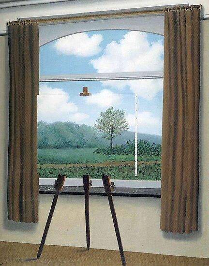 Der menschliche Zustand (La condition humaine) -René Magritte von LexBauer