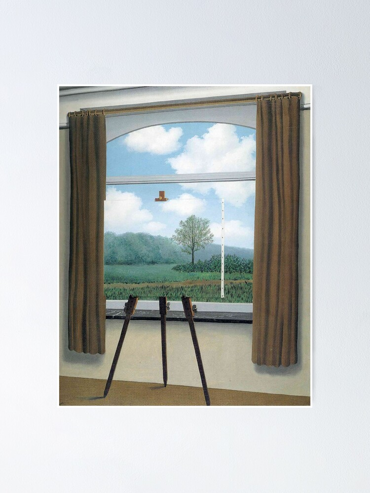 The Human Condition(La Condition Humaine)-René Magritte