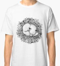 Fox Sleeping in Flowers Classic T-Shirt