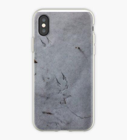 A little bird was here iPhone Case