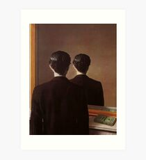Not to Be Reproduced(La reproduction interdite)-René Magritte Art Print