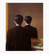 Not to Be Reproduced(La reproduction interdite)-René Magritte Photographic Print