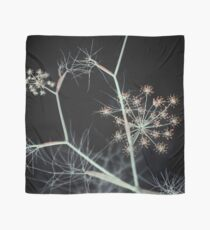 Night Whispers. Dark Floral Scarf