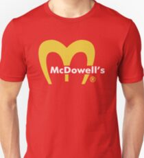 MCDOWELL´S - COMING TO AMERICA  Unisex T-Shirt