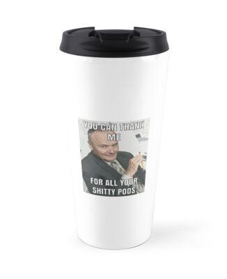 JUUL Pods Travel Mugs By Milkyr