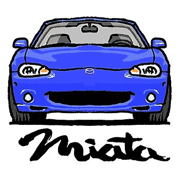 MX5 Miata NB Blue by Woreth