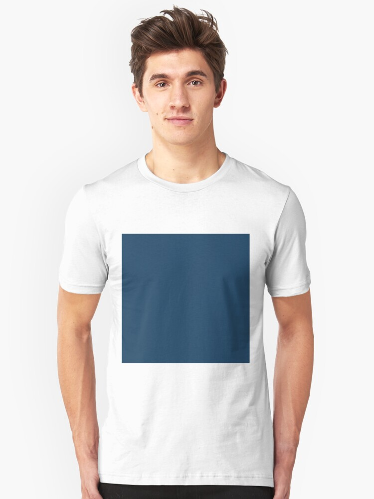 bfd3d74a29 'Sailor Blue Solid Color' T-Shirt by patternplaten