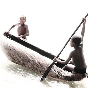 Native Canoe Play by babatim