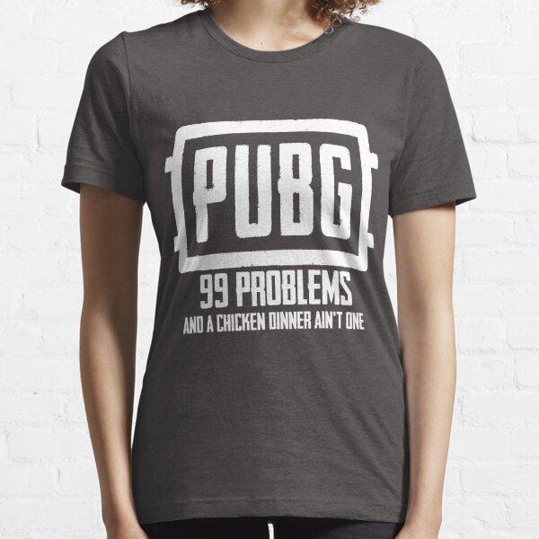 PlayerUnknowns Battlegrounds PUBG 99 Probleme Essential T-Shirt
