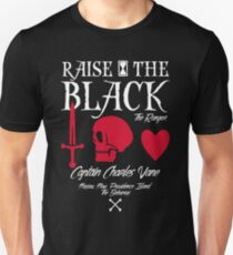 "Black Sails Charles Vane ""Raise The Black"" Unisex T-Shirt"