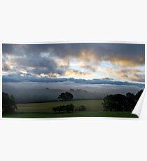 Lake District Dawn Poster