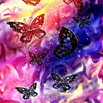 Magic Butterfly Galaxy (Morning) by MidnightRain