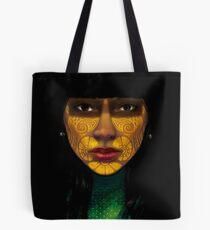 ornate woman Tote Bag