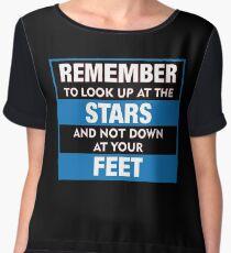 Stephen Hawking Remember T shirt Chiffon Top