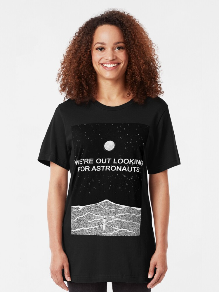 Alternate view of The National (Band) - Looking for Astronauts (Alligator) Slim Fit T-Shirt